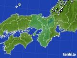 2015年01月04日の近畿地方のアメダス(降水量)