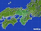 2015年01月06日の近畿地方のアメダス(降水量)