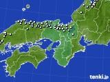 2015年01月07日の近畿地方のアメダス(降水量)