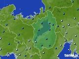 2015年01月07日の滋賀県のアメダス(気温)