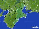 2015年01月08日の三重県のアメダス(気温)