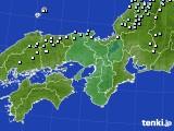 2015年01月11日の近畿地方のアメダス(降水量)