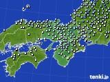 2015年01月15日の近畿地方のアメダス(降水量)