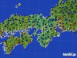 2015年01月17日の近畿地方のアメダス(日照時間)