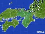 2015年01月19日の近畿地方のアメダス(降水量)