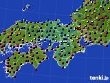 2015年01月20日の近畿地方のアメダス(日照時間)