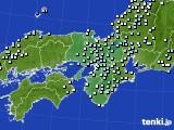 2015年01月22日の近畿地方のアメダス(降水量)
