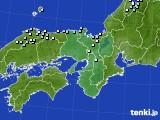 2015年01月27日の近畿地方のアメダス(降水量)