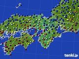 2015年01月27日の近畿地方のアメダス(日照時間)