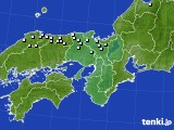 2015年01月28日の近畿地方のアメダス(降水量)