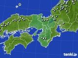 2015年01月31日の近畿地方のアメダス(降水量)