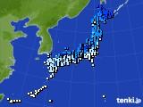 アメダス実況(気温)(2015年01月31日)