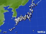 アメダス実況(風向・風速)(2015年02月01日)