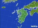 九州地方のアメダス実況(積雪深)(2015年02月03日)