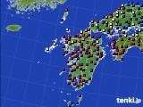 九州地方のアメダス実況(日照時間)(2015年02月03日)