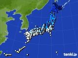 アメダス実況(気温)(2015年02月03日)