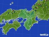 近畿地方のアメダス実況(積雪深)(2015年02月04日)