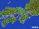 近畿地方のアメダス実況(日照時間)(2015年02月04日)