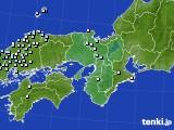近畿地方のアメダス実況(降水量)(2015年02月05日)