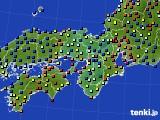 近畿地方のアメダス実況(日照時間)(2015年02月05日)