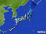 アメダス実況(気温)(2015年02月05日)