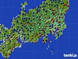 関東・甲信地方のアメダス実況(日照時間)(2015年02月09日)