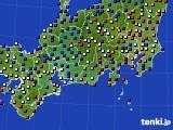 東海地方のアメダス実況(日照時間)(2015年02月09日)
