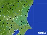 茨城県のアメダス実況(気温)(2015年02月09日)