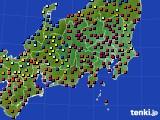 関東・甲信地方のアメダス実況(日照時間)(2015年02月11日)