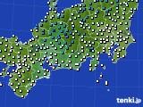 アメダス実況(気温)(2015年02月11日)