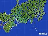 東海地方のアメダス実況(日照時間)(2015年02月17日)