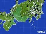 東海地方のアメダス実況(降水量)(2015年02月18日)