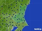 茨城県のアメダス実況(日照時間)(2015年02月22日)