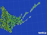 道東のアメダス実況(気温)(2015年02月26日)