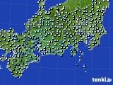 東海地方のアメダス実況(降水量)(2015年03月01日)