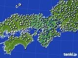 近畿地方のアメダス実況(降水量)(2015年03月01日)