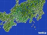 東海地方のアメダス実況(気温)(2015年03月01日)