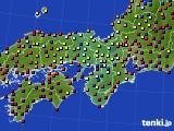 2015年03月02日の近畿地方のアメダス(日照時間)