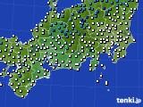 東海地方のアメダス実況(気温)(2015年03月02日)