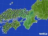近畿地方のアメダス実況(降水量)(2015年03月03日)