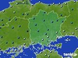 岡山県のアメダス実況(気温)(2015年03月03日)