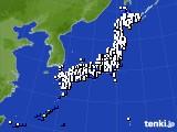 アメダス実況(風向・風速)(2015年03月03日)
