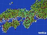 2015年03月04日の近畿地方のアメダス(日照時間)