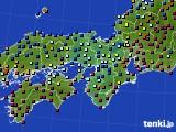 2015年03月05日の近畿地方のアメダス(日照時間)
