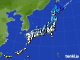 アメダス実況(気温)(2015年03月05日)