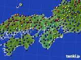 2015年03月06日の近畿地方のアメダス(日照時間)