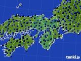 2015年03月07日の近畿地方のアメダス(日照時間)