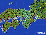 2015年03月11日の近畿地方のアメダス(日照時間)
