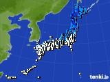アメダス実況(気温)(2015年03月12日)