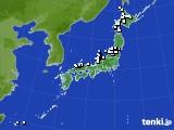 アメダス実況(降水量)(2015年03月13日)
